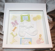 Babies unique and personalized picture frames.