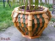 New Handmade Wooden Garden Pots