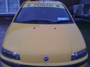 2001 yellow fiat punto sporting brand new 2 year nct