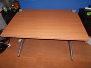 As new open plan office desks