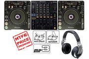 PIONEER CDJ 1000 MK 3 / DJM 800 - CD DJ PACKAGE